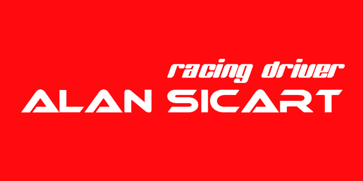 Alan Sicart Racing Driver