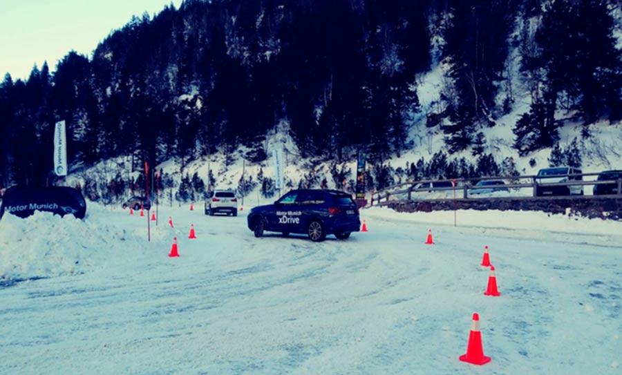 Cursos de conducción en nieve